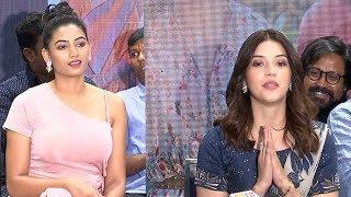 Mehreen Pirzada Speech At Entha Manchivaadavuraa Movie