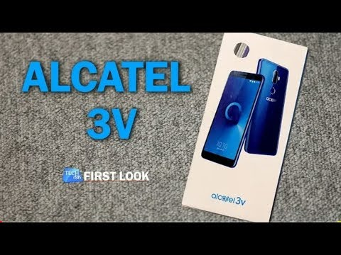 (हिंदी) ALCATEL 3v unboxing & review ||latest 2018