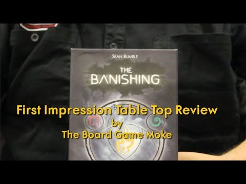 First Impression Table Top Review: The Banishing