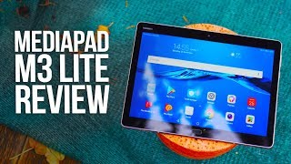 Huawei Mediapad M3 Lite Review - Best Budget Tablet 2017 ?!