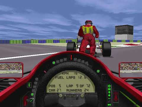 MicroProse Grand Prix 2 By Geoff Crammond French Grand Prix Round 7 (F1 1994)
