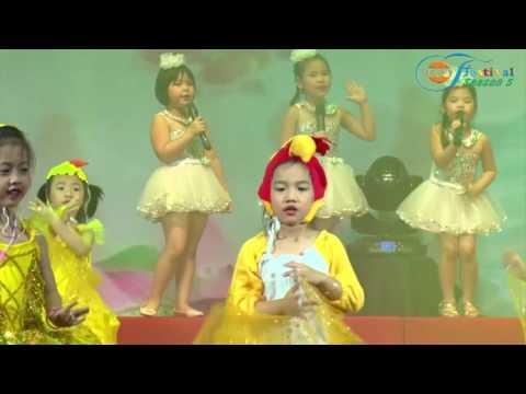 Hoạt cảnh hát múa: Tiếng gà quê - Festival Bill Gates Schools - Season 5 (2016 - 2017)