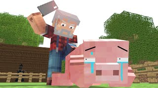 Pig Life   Craftronix Minecraft Animation