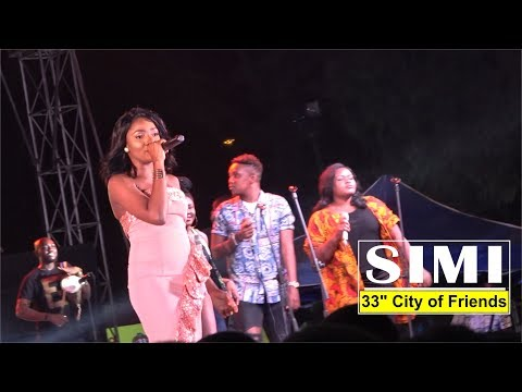 """SIMI AWESOME PERFORMANCE @ 33"""" CITY OF FRIENDS 2018"""