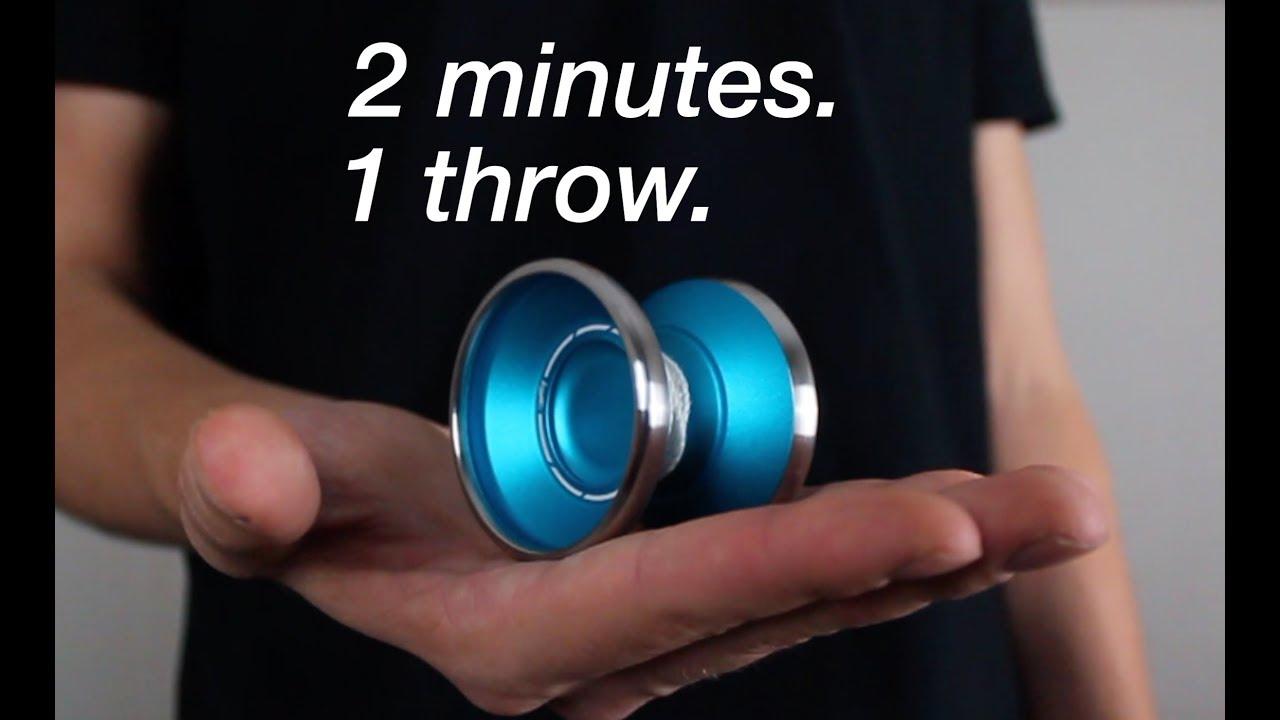 product video Yoyo Factory Bi Metal Shutter Blauw/Zilver