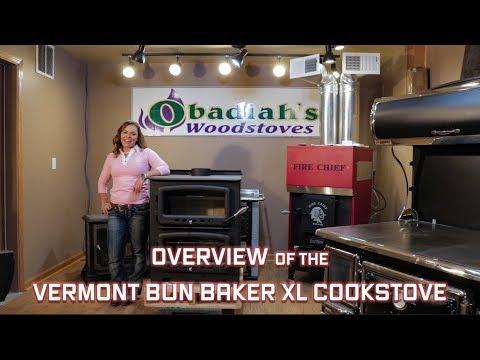Vermont Bun Baker XL Cookstove - Overview