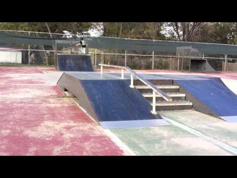 Skating at white settlement skatepark