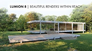 Lumion 8 Is Out Now - Find Out About The New Features Here