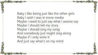 Chrisette Michele - If Nobody Sang Along Lyrics
