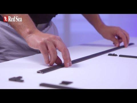 Cómo construir una cubierta de red hágalo usted mismo para el acuario  Red Sea (Spanish)