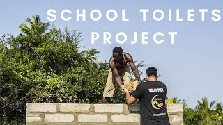 preview picture of video 'School Toilets Project- Tanzania Charity Work Volunteering Abroad'