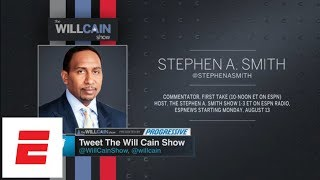 Will Cain and Stephen A. Smith debate Terrell Owens' Hall of Fame treatment | Will Cain Show | ESPN