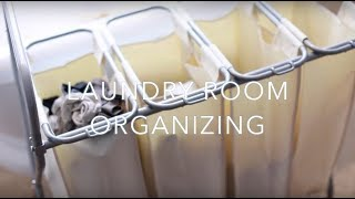 Laundry Room Organizing Idea & Tips