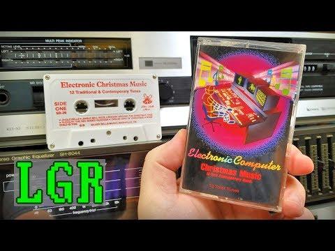 LGR - Electronic Computer Music Christmas Cassette