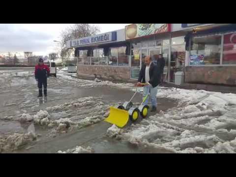 Karmatik, Kar Küreme Arabası, Manuel Kar Temizleme Makinesi