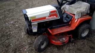 1989 Simplicity 4212 12H.P. 36'' Cut Lawn Tractor