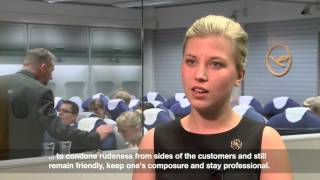 Flight Attendant with Lufthansa - Why is that many people's dream job?