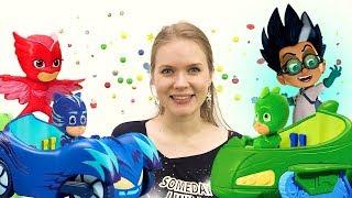 ГЕРОИ В МАСКАХ против злодеев! Видео с игрушками из мультиков. Зловещий лабиринт и спасение Светы!