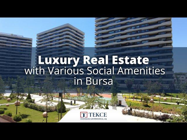 Luxe vastgoed met Diverse Sociale Voorzieningen in Bursa