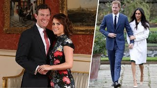 Queen's former aide says Eugenie's wedding won't be overshadowed by Harry's day