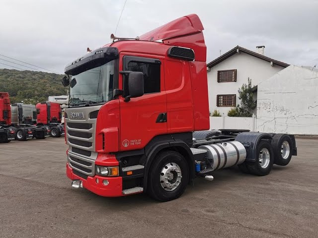 Vídeo do caminhão R380 6x2