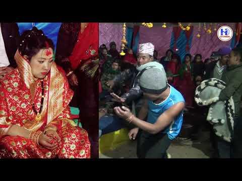 मुखै तितो बनायो तिते करेलिले ||Beautiful danse || Best Wedding video from Baglung