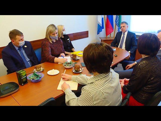 Мэр Ангарского округа провёл итоговую пресс-конференцию