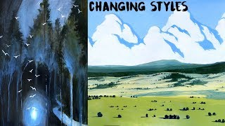 Changing Your Art Style: Losing and Evolving