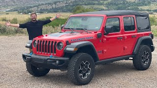 2021 Jeep Wrangler 4xe - Maybe We're Starting Off On The Wrong Foot