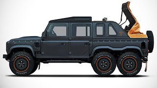 8 SUPER OFF-ROAD 6x6 cars For Real Men in the world