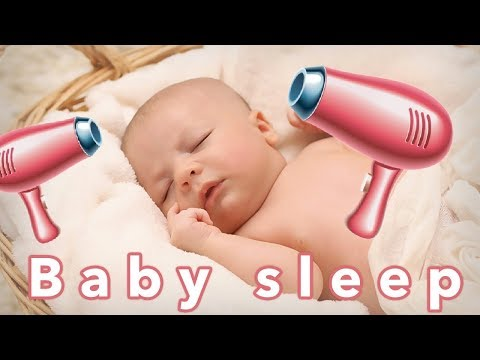 120min - Baby Fön Geräusch zum einschlafen | Haarfön für Babys / Hair Dryer Sleep Sounds