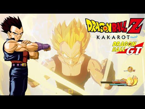 Dragon Ball Z Kakarot - Vegeta GT MOD