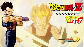 Dragon Ball Z Kakarot Vegeta GT
