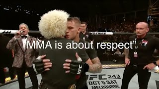 Respect between Khabib Nurmagomedov vs Dustin Poirier