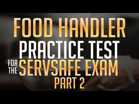 Food Handler Practice Test for the ServSafe Exam Part 2 - YouTube
