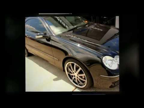 """Mercedes CLK 350 rolling staggerd 19"""" Koya Aston Wheels"""