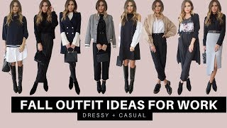 8 Outfit Ideas For Work | Fall 2017
