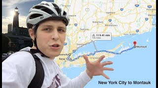 Bicycling Across Long Island: Manhattan To Montauk (142 Miles)