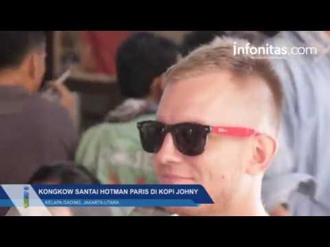 Kongkow Santai Hotman Paris di Kopi Johny, Kelapa Gading, Jakarta Utara