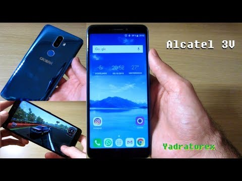 Alcatel 3V - Review en Español (5099D)