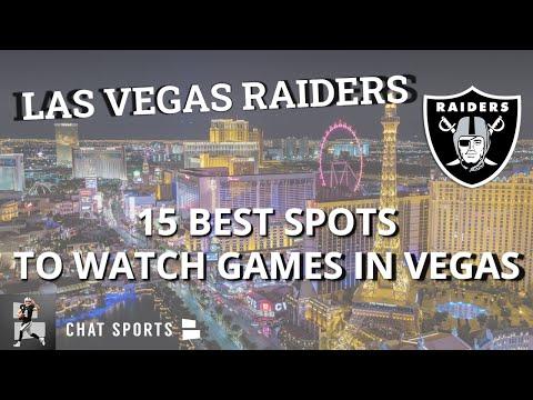 15 Best Raiders Bars & Restaurants In Las Vegas To Watch NFL Games Near Allegiant Stadium