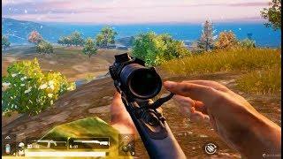 狙击手麦克:挑战升级!只用狙击枪打经典模式,单人四排13连杀!