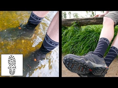 Wasserdichte Socken von SealSkinz (Produkt-Update 2)