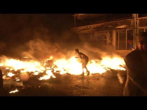 Un muerto y 150 heridos en protestas en Cisjordania