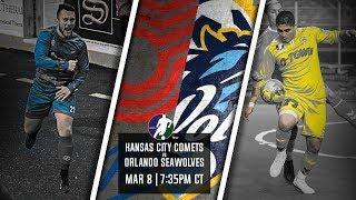 Kansas City Comets vs Orlando SeaWolves