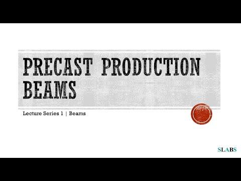 2.1 Precast Beams including Prestressed Beams and Double - Tee Beams