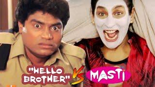 आप अच्छे अच्छों को हिला डालते है .. नाक के बाल जला डालते है   Best of Comedy Hello Brother V/S Masti