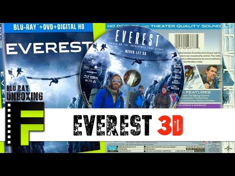 Everest 3D Blu-Ray Unboxing & Review [FilmFad.com]