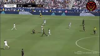 زلاتان يبدع ويسجل في لاول مباراة له مع كلاكسي الامريكي هدف عالمي