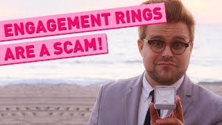 Gambar cover Why Engagement Rings Are a Scam - Adam Ruins Everything